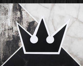 Kingdom Hearts - Crown Vinyl Decal Sticker