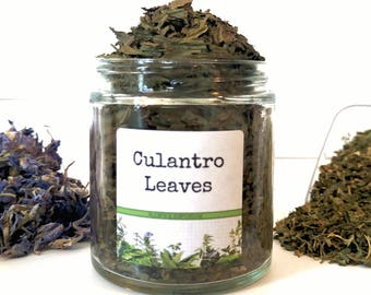 Dried Culantro Leaves Gourmet Cooking Chef Foodie Gift