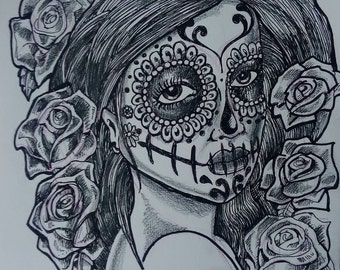 Day of the dead (Dia De Murtos) Portrait 4