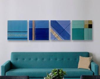Dipinti per sentirsi a casa di eldafrangiwallart su etsy for Quadri moderni minimalisti