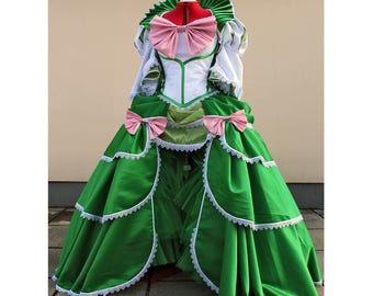 Custom made Rococo style Sailor Princess gown