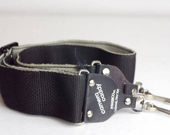 Black Woven Camera Strap