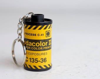 Kodak Kodacolor II 35mm Film Canister Key Chain