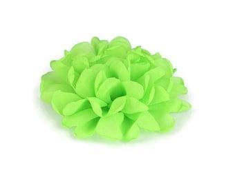 Green Dog Collar Flower, Green Collar Flower Attachment, Green Collar Flower Add On, Green Collar Flower Accessory, Dog Collar Flower