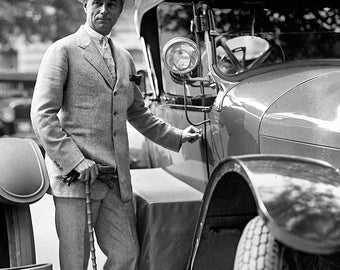 Vintage Image 1923 Dapper Gentleman - 8 x 10 - Instant Download