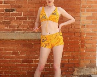 Jantzen Two Piece Vintage 1960s Swimsuit