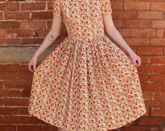 Home Sewn Vintage 1960s Dress
