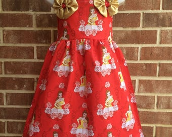 Belle dress, Princess Belle, Beauty and the Beast dress
