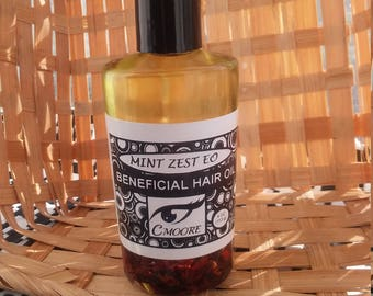 Beneficial Hair Oil with choice of Optional Essential Oils