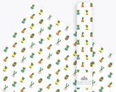 Cactus Wrapping Paper, Gift Wrap