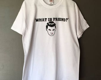 What Is Friend? Stranger Things Tshirt Eleven Tee Top