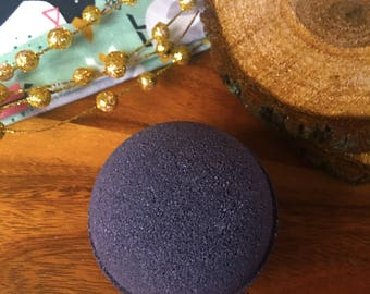 Lump of Coal Midnight Fig Black Bath Bombs Bath Vegan Bath Bomb Natural Bath Fizzy Stocking Stuffer Christmas Gifts