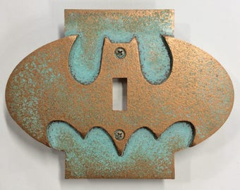 Batman Symbol - Light Switch Cover