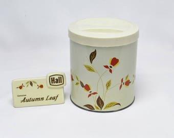 Jewel Tea AUTUMN LEAF Candy Tin With Plastic Lid Vintage Jewel Tea Hard  Candy Tin Design Inspirations