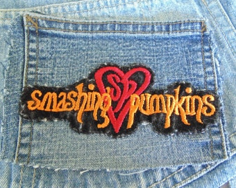 Smashing Pumpkins patch used upcycled