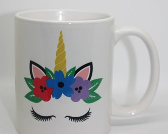 Unicorn Mug Custom Coffee Mug Personalized Coffee Mug Personalized Mug Personalized Coffee Mug