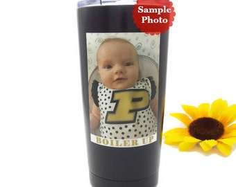 Mothers Day Gift Idea - Personalized Tumbler - Photo Tumbler - Photo Mug - Picture Tumbler Best Seller Printed Photograph 20 oz Tumbler Cup