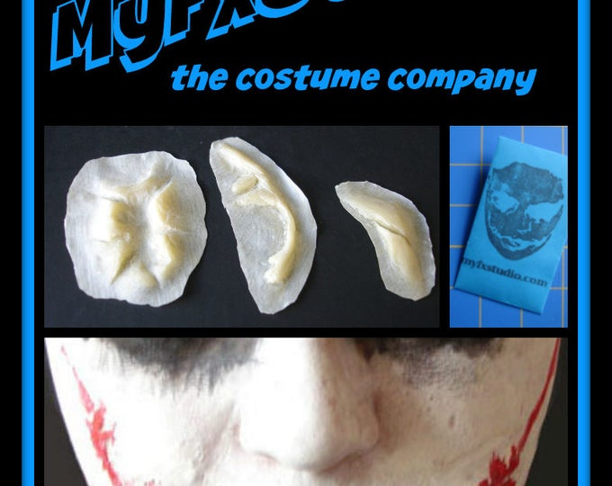 MYFX JOKER SCARS 4 Your Batman Dark Knight Ledger Costume Cosplay Prosthetic Makeup Mask ~ Free Shipping ~ Orders by 7pm/est Ship Today
