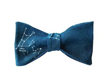 The Ursa (Self tie cotton bow tie)