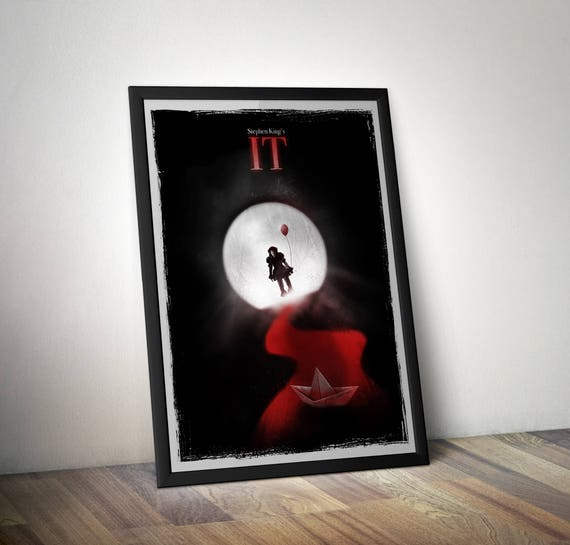 Stephen King's IT Inpsired Movie Poster - IT alternative Movie Poster - Pennywise Poster