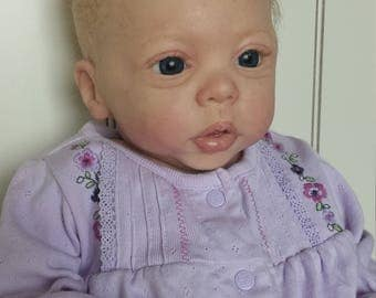Full silicone body  baby Willow by Laura Tuzio