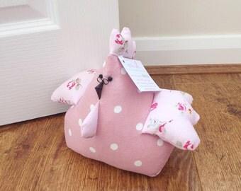 Doorstop Hen, Betsy! Fat Hen Doorstop, Fabric Doorstop, Novelty Doorstop, Novelty Gift, Personalised Gift, Chicken, Hen, Shabby Chic, Unique