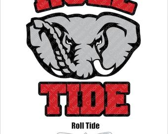 Roll Tide - Alabama - Football SVG Digital Download File