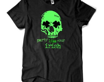 St. Patricks Day Tee shirt