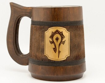 Warcraft Horde Mug Warcraft Gift World of Warcraft Mug Horde Gifts WOW Mug Gamer Gift Epic Mug WOW Gift