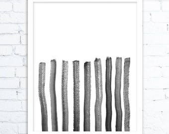 Minimalist Art, Black and White Print, Printable Wall Art,Scandinavian Modern, Digital Print,Scandi Print Set, Printable Wall Decor, Office