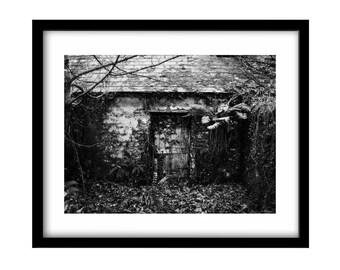 Abandoned house, black and white photography, black and white photos, black and white irish landscape, irish photography, irish landscape