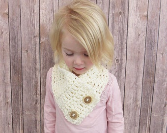 Layla Toddler/Child Crochet Cowl, Toddler Scarf