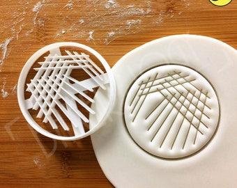 Quadrant Streak cookie cutter | Microbiology biscuit cutters Petri Dish Streaking biscuit Microbiologist cookies laboratory lab science