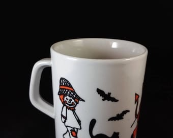 Old-Fashioned Halloween Trick or Treat Mug