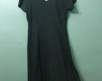 Emmy Dress- forest green maxi dress