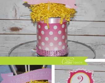 Lemonade Centerpiece, Lemon Centerpiece, Pink Lemonade Centerpiece, Lemonade Decoration, Lemonade Decor, Lemonade Birthday Party, Lemon