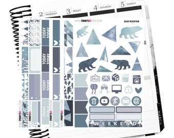 Bear Mountain Planner Kit