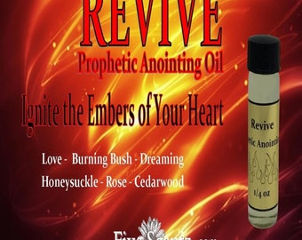 Revive Prophetic Anointing Oil