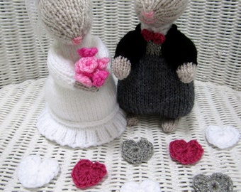 knitted mice wedding cake toppers etsy your place to buy and sell all things handmade 16653