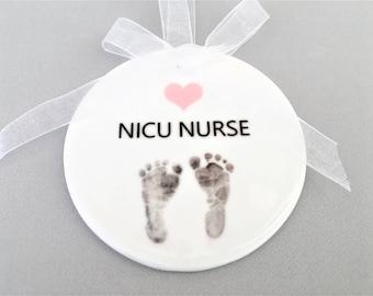 NICU Nurse Ornament, NICU Nurse Ornaments, Nurse Ornament, Nurse Ornaments, Nurse Gift, Nurse Gifts, Nurse Appreciation, Gifts for Nurses