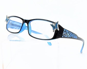 Reading Glasses with Butterfly +3.00
