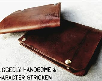 Mens Leather Wallet. Mens Minimalist Wallet/Mens Slim Wallet/Card Holder. Made in the US. Veg tanned Leather Wallet. Mens Personalized Gift