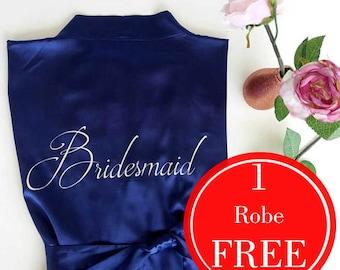 Bridesmaid Robes, Bridesmaid gift , Set of Bridesmaid robes, Wedding robes, Bridal robe, Bride robe, Bridal party robe, bridesmaid robe set