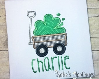 St Patricks Day Shirt, St Patricks Day, Boys Applique, Boys shirt, Boys St Patricks Day, Personalized, Embroidered, St Patricks Day Applique