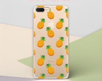 iPhone 8 Plus Case Phone Pineapples iPhone 6 Case Gel Phone Case iPhone 7 Plus Case iPhone 6S Plus TPU Phone Case Clear Best Friend CG1632