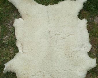 Natural sheep skin