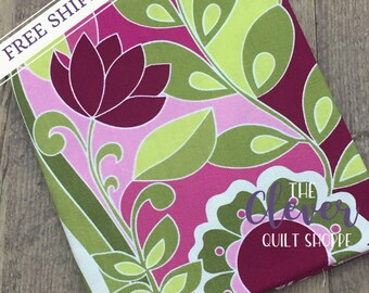 Botanique Berry Main by Lila Tueller Designs for Riley Blake (100% Cotton, Quilting Fabric Yardage)