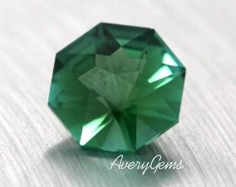 Tourmaline Green 1.2 Ct  Loose Gemstone Natural Ror Engagement Ring Tourmaline Ring Necklace Precious Gemstone Precision Cut By AveryGems