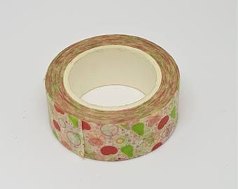 Fruit Salad Washi Tape (15mm x approx 10m)