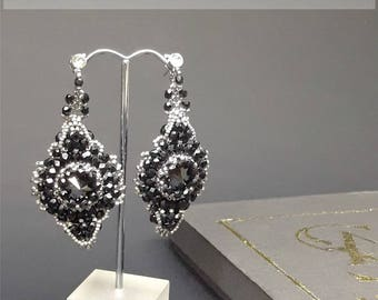 "Earrings ""Marquise"""